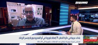 بلدات عربية في دائرة الخطر: 75 إصابة بكورونا في أم الفحم ودبورية وجسر الزرقاء،أحمد الشيخ،بانوراما9.4
