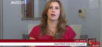 الأطفال العرب؛ أكثر من نصف ضحايا حوادث العطلة الصيفية! - كيتي نويصر- التاسعة  - 15-9-2017