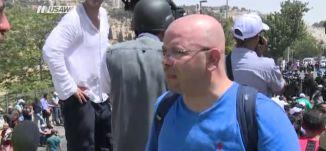 نشر دوريات على أبواب القدس و في أنحاء البلدة- تغطية خاصة - 28-7-2017 - قناة مساواة الفضائية
