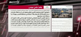 وكالة القدس للانباء: القدس بلا فلسطينيين!،حلمي موسى،مترو الصحافة،13-1-2019،قناة مساواة الفضائية