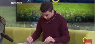 عزف على آلة القانون - ميلاد عبد الفتاح - صباحنا غير- 24-3-2017 - قناة مساواة الفضائية