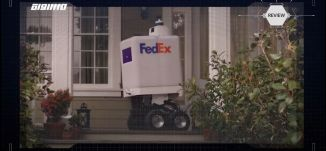 عربة ذاتية القيادة لتوصيل الطرود من(FedEx ) - Review - برنامج #USB - حلقة 28-5-2019