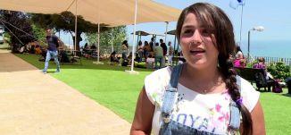 تقرير - صعوبة الصيام لطلاب جامعة حيفا - #الظهيرة -12-6-2016- قناة مساواة الفضائية