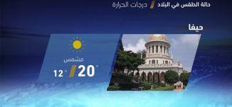 حالة الطقس في البلاد - 23-4-2018 - قناة مساواة الفضائية - MusawaChannel