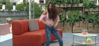 رقصة هيب هوب - حلا سعد - #صباحنا_غير- 3-8-2016- قناة مساواة الفضائية