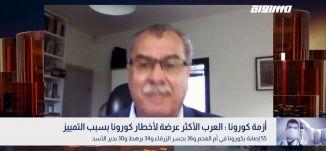 أزمة كورونا : العرب الأكثر عرضة لأخطار كورونا بسبب التمييز،محمد بركة،بانوراما مساواة،16.04.2020