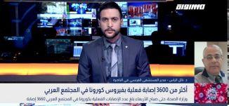 أكثر من 3600 إصابة فعلية بفيروس كورونا في المجتمع العربي،نائل الياس،بانوراما مساواة،12.08.20،مساواة