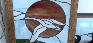 الرسم على الزجاج- 24-9-2015- قناة مساواة الفضائية -عين الكاميرا - Musawa Channel