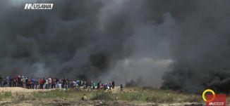 تقرير - سخنين - مسيرة تضامنية مع الحراك في غزة ،مجد دانيال ،صباحنا غير،8.4.2018،مساواة