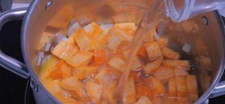 شوربة بطاطا حلوة  - طعمات - قناة مساواة الفضائية - Musawa Channel