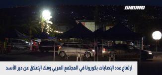 كورونا في البلدات العربية بمزيد من الإصابات،الكاملة،بانوراما مساواة ،26.04.2020