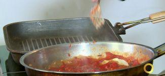 فقرة المطبخ - فيليه سمكة الدنيس بصلصة البندورة والفليفلة الحلوة - #صباحنا_غير- 21-12-2016- مساواة