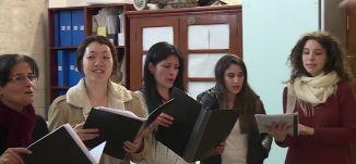 تقرير - كورال القدس يتجهزون لتراتيل في اللاتينية في كنيسة المهد - 24-12- #تغطية_خاصة - مساواة