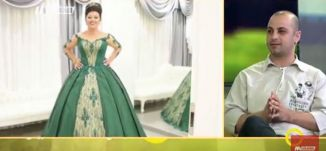 تصميم الأزياء بين الماضي والمستقبل - عيدو مصاروة -  صباحنا غير- 17.9.2017 - قناة مساواة الفضائية
