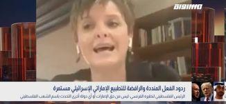 ردود الفعل المنددة والرافضة للتطبيع الإماراتي الإسرائيلي،هنيدة غانم،سامي أبو شحادة،بانوراما،16.8