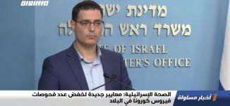 الصحة الإسرائيلية: معايير جديدة لخفض عدد فحوصات فيروس كورونا في البلاد ،الكاملة،اخبار مساواة ،04،04