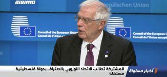 المشتركة تطالب الاتحاد الأوروبي بالاعتراف بدولة فلسطينية مستقلة،اخبار مساواة،01.07.2020،مساواة