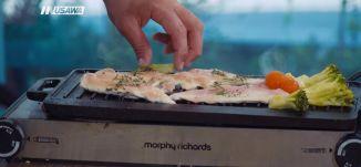 صدر دجاج مشوي مع بروكلي  وبطاطا حلوة  بوريه - الشيف نائل زرقاوي - عالطاولة - الحلقة 23 - الكاملة