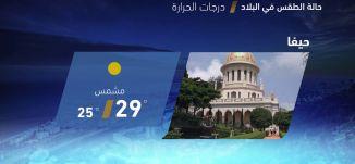 حالة الطقس في البلاد - 23-7-2018 - قناة مساواة الفضائية - MusawaChannel