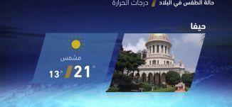حالة الطقس في البلاد - 28-4-2017 - قناة مساواة الفضائية -  MusawaChannel