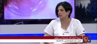 اعمال العنف والتكسير في المستشفيات ! -  سناء بشارات - #التاسعة مع رمزي حكيم -  14-3-2017 - مساواة