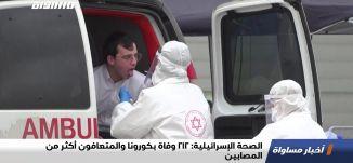الصحة الإسرائيلية: 212 وفاة بكورونا والمتعافون أكثر من المصابين،اخبار مساواة،29.04.2020