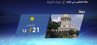 حالة الطقس في البلاد - 9-4-2018 - قناة مساواة الفضائية - MusawaChannel