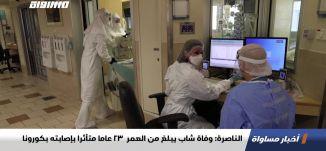 الناصرة: وفاة شاب يبلغ من العمر  23 عاما متأثرا بإصابته بكورونا