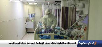 الصحة الإسرائيلية: ارتفاع مؤشر الإصابات الموجبة خلال اليوم الأخير،اخبارمساواة،03.11.2020،قناة مساواة