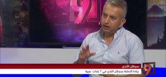 حملة لمكافحة سرطان الثدي في 7 بلدات عربية - بكر عواودة - 2-8-2016-#التاسعة - قناة مساواة الفضائية